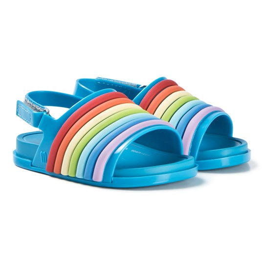 e3c0eeca0e75 Mini Melissa - Beach Slide Rainbow Sandals - Babyshop.com