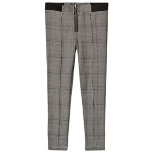 Bilde av Bardot Junior Black Check Lou Stretch Pants 16 Years