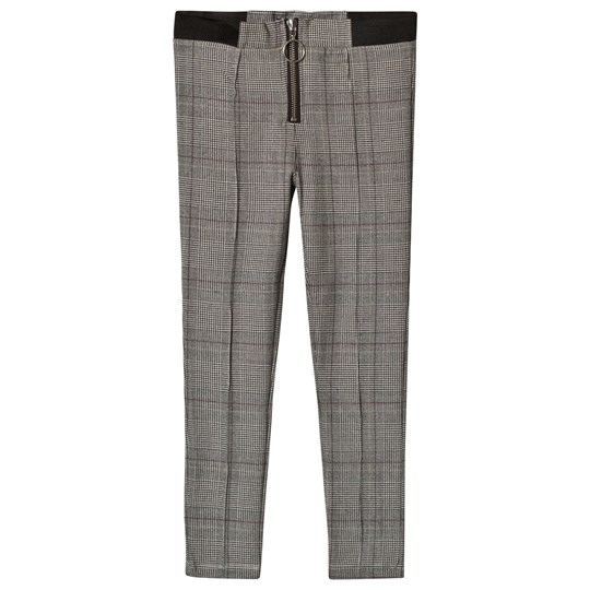 Bardot Junior Black Check Lou Stretch Pants Black Check