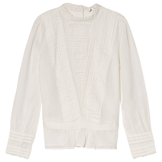 Les Coyotes De Paris Louise Blouse Off White White