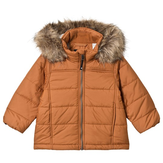 0903ece7 Didriksons - Malmgren Kid´s Jacket Leather Brown - Babyshop.com
