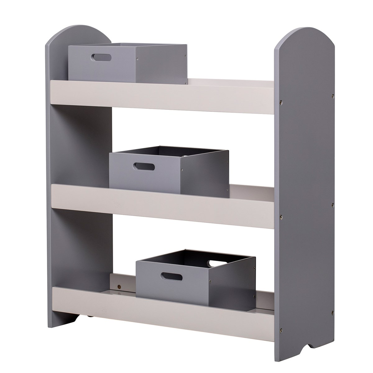 Bloomingville Bookcase With Drawers Grey Babyshop Com