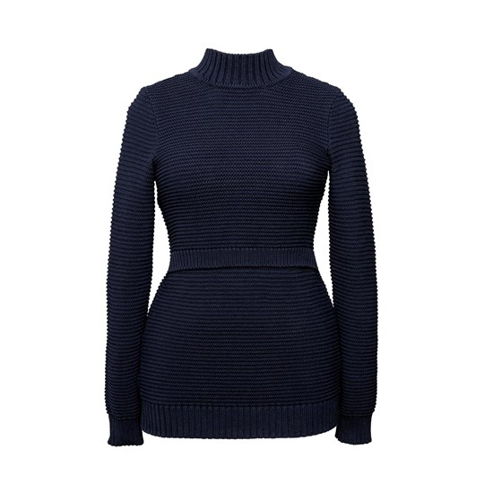 Boob Elisa Rib Knit Sweater Midnight Blue Midnight Blue