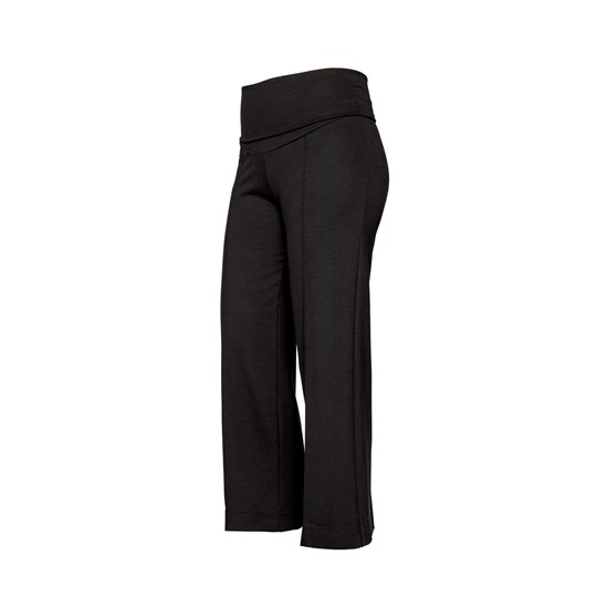 Boob Oono Cropped Pants Black Black