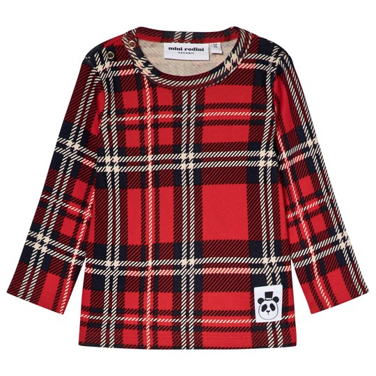 3ca58a3d6997 Mini Rodini - Check Tee Red - Babyshop.com