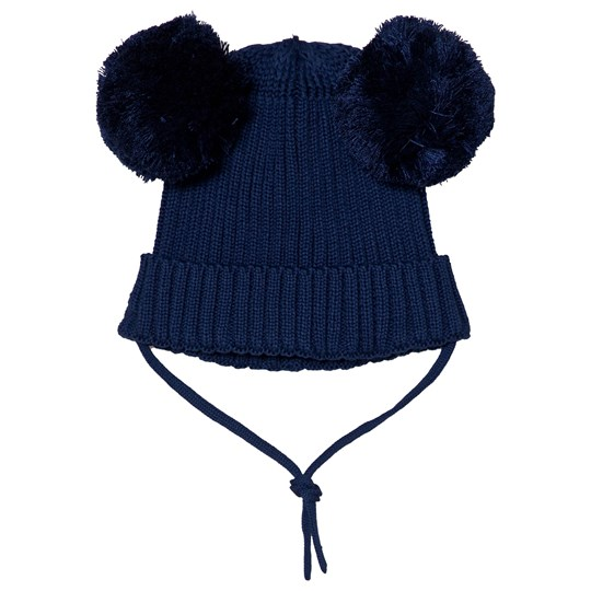 Mini Rodini Ear Hat Navy Laivastonsininen