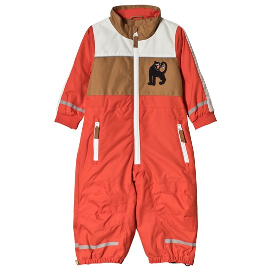 Mini Rodini Snowracing Overall Röd Red