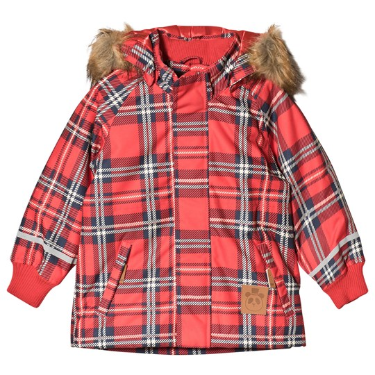 6f9ba4131501 Mini Rodini - K2 Check Parka Red - Babyshop.com