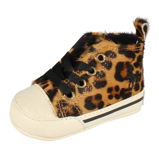 Ralph Lauren Sag Harbour Hi Leopard BROWN