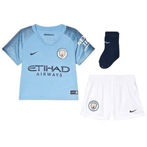 Image of Manchester City FC Manchester City FC and Nike comes the Blue Manchester City FC Breath Home Infants Kit 9-12 months (3056110571)