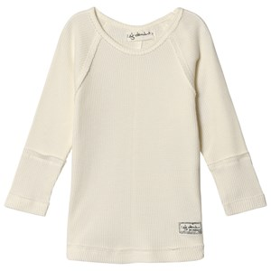 Image of I Dig Denim Baby Long Sleeve Sweater White 74 cm (6-9 mdr) (3060378739)