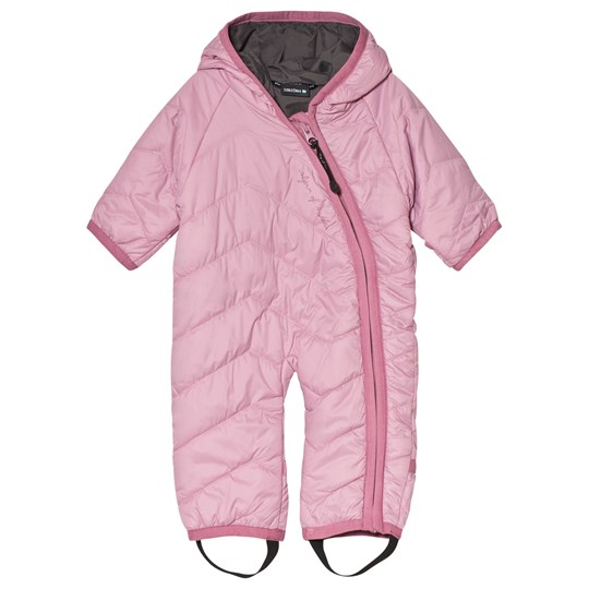 Isbjörn Of Sweden Frost Baby Coverall Dusty Pink DUSTYPINK