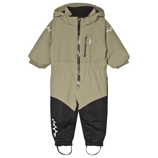 049f74ae1227 Isbjörn Of Sweden - Penguin Snowsuit Moss - Babyshop.dk
