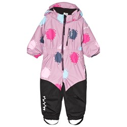 Isbjörn Of Sweden Penguin Snowsuit Dusty Pink Globe