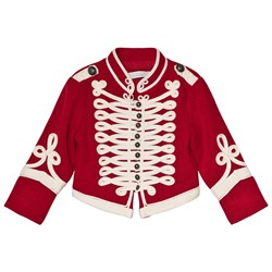 Stella McCartney Kids Red Will Military Jacket