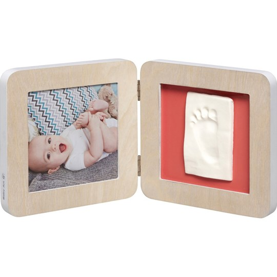 Baby Art My Baby Touch Scandinavian Limited Edition Fotoram med Gipsavtryck White