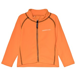 Image of Didriksons Monte Kids Jacket 3 Sun Orange 100 (3-4 år) (3060381077)