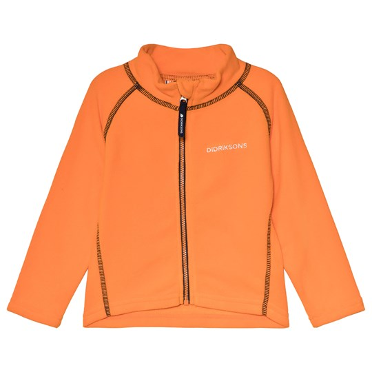 Didriksons Monte Kids Jacket 3 Sun Orange Sun orange