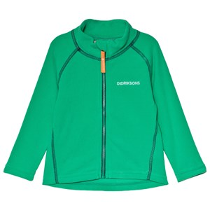 Image of Didriksons Monte Kids Jacket 3 Bright Green 100 (3-4 år) (3060381035)