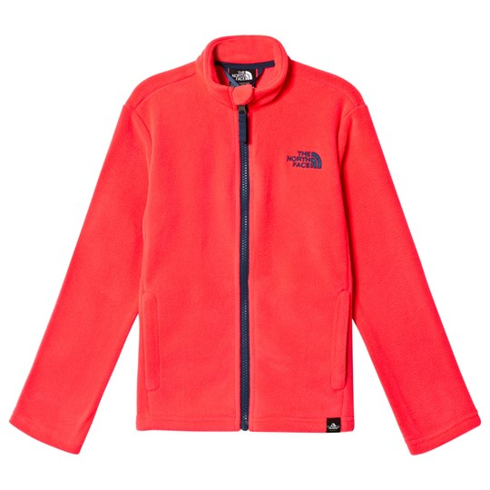The North Face Rocket Red Snow Quest Full Zip Mid Layer Fleece ROCKET RED