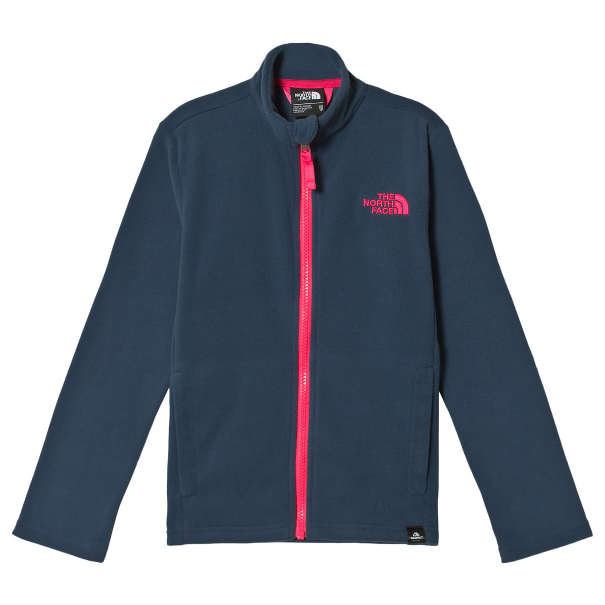c0c430f5 the north face blue and pink full zip mid layer fleece