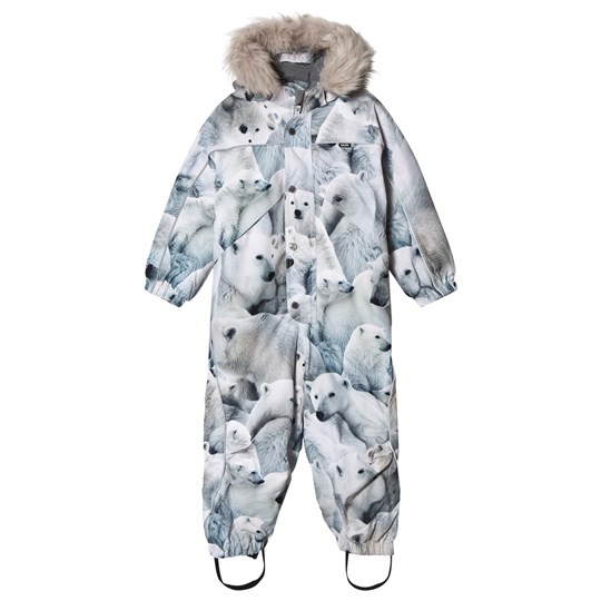 Molo Polaris Faux Fur Snowsuit Polar Bear Polar Bear
