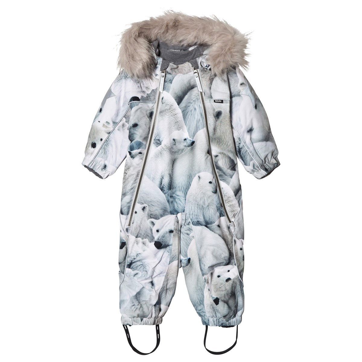 Molo Pyxis Faux Fur Snowsuit Polar Bear Babyshop No