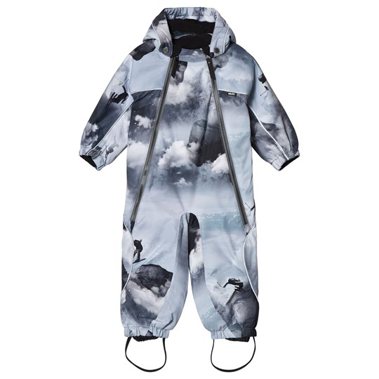 Molo Pyxis Baby Snowsuit High in the Sky High in the Sky