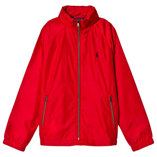 Ralph Lauren Red Plainwave Windbreaker 001