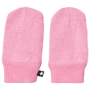 Molo Snowflake Mittens Total Pink 6-12 mdr