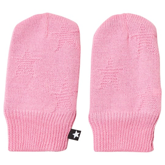 Molo Snowflake Mittens Total Pink Total Pink