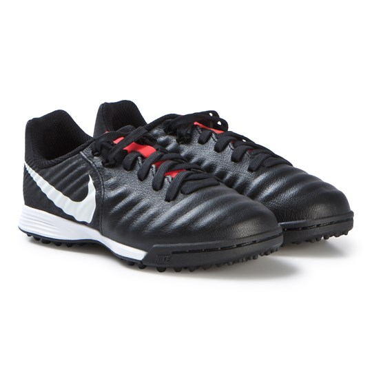 NIKE Black Tiempo LegendX 7 Academy Artificial-Turf Football Shoes 006