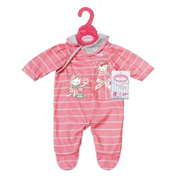 Baby Annabell Romper, Pink Striped