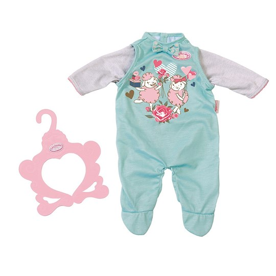 Baby Annabell Footed Baby Body Turquise Turquoise