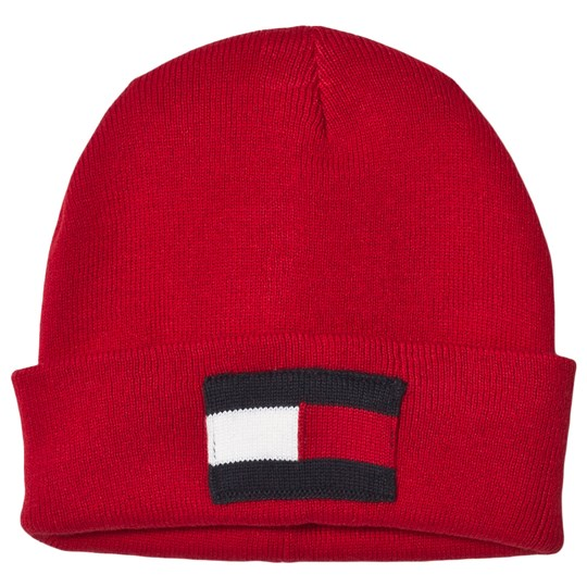Tommy Hilfiger Red Flag Beanie 614
