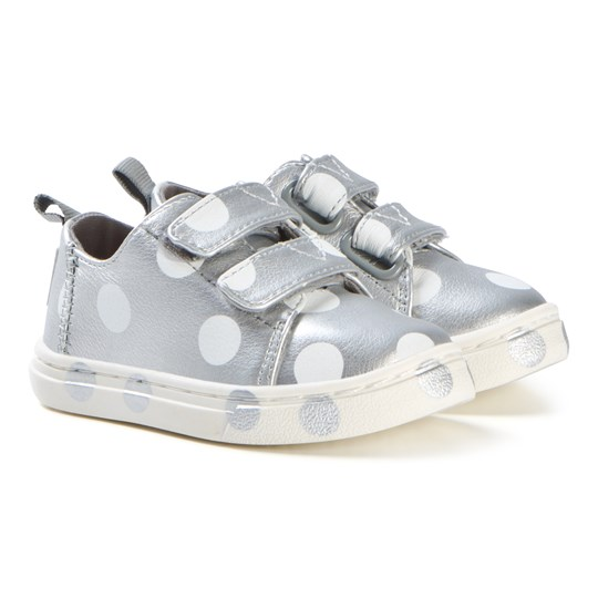 Toms Silver Dot Lenny Sneakers SILVER PEARLISED
