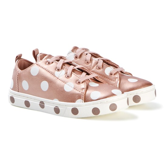 Toms Rose Gold Spot Sneakers ROSE GOLD PEARLISED