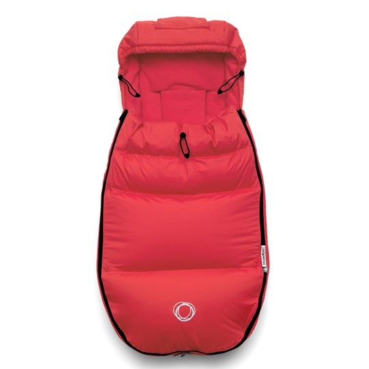 Bugaboo Bugaboo High Performance Footmuff+ Neon Red Neon Red