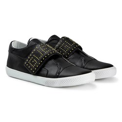 Guess Black Studded Logo Sneakers