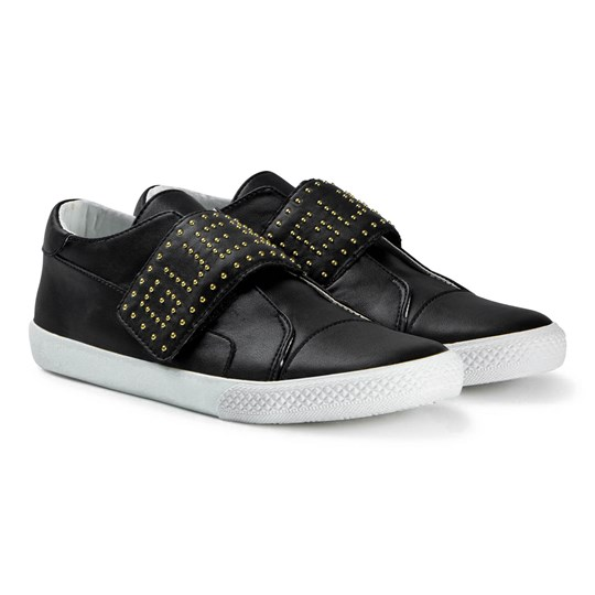 Guess Black Studded Logo Sneakers 001