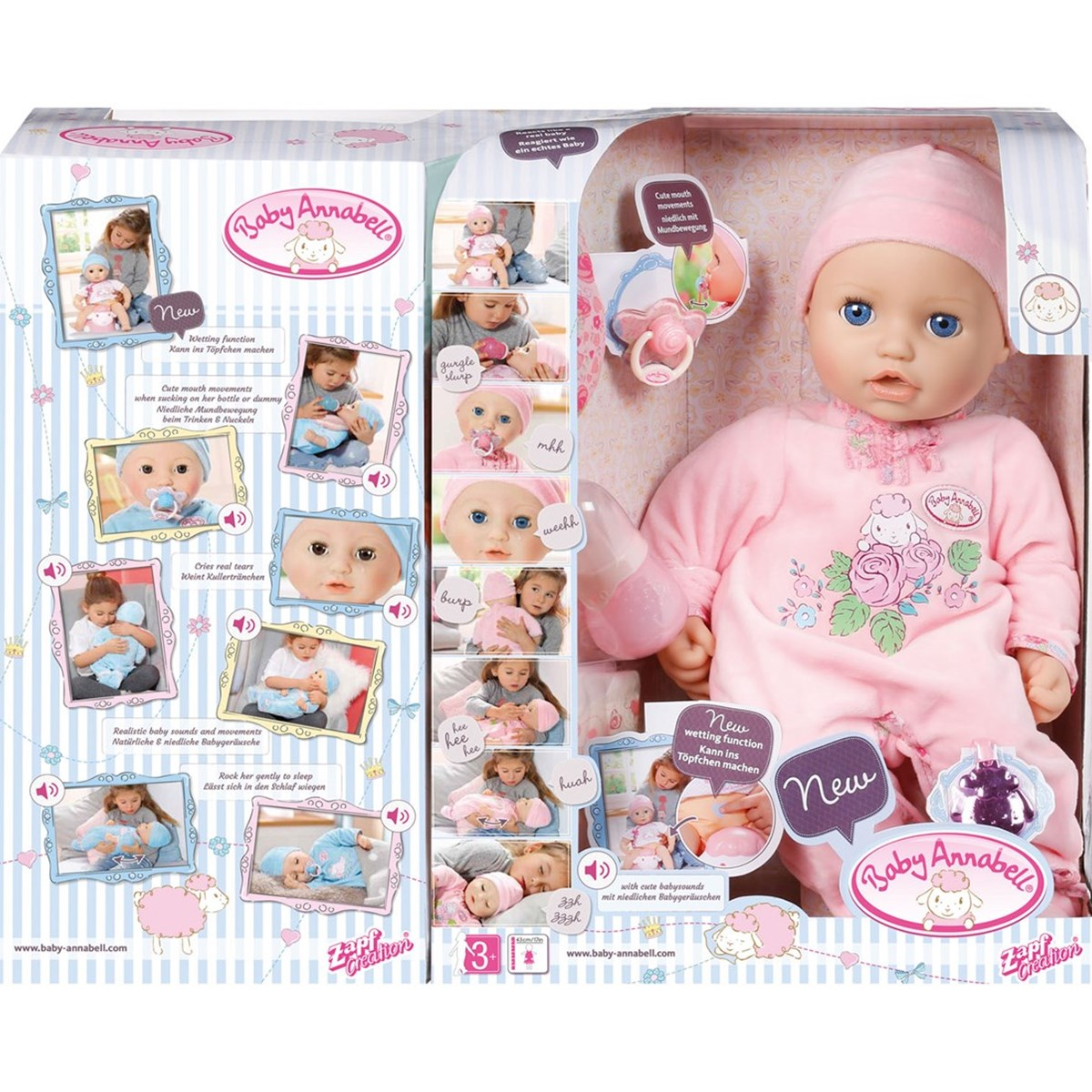 Baby Annabell Baby Annabell Doll Babyshop Com
