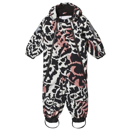 Molo Pyxis Baby Snowsuit Graphic Feathers Graphic Feathers
