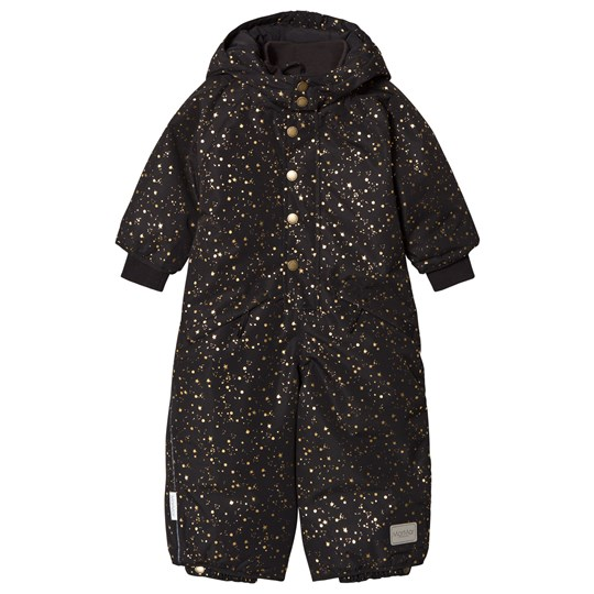 MarMar Copenhagen Ollie Snowsuit Black Star Flake BLACK STAR FLAKE