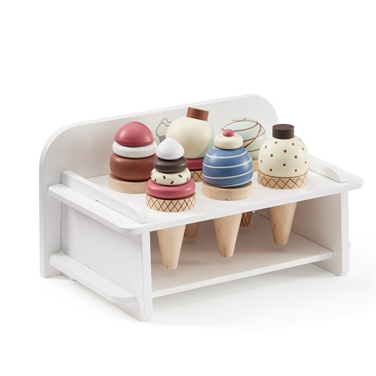 Kids Concept Ice Cream Bar Set With Stand