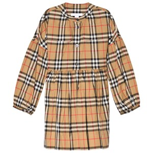 Image of Burberry Antique Check Marny Dress 10 years (3061221919)