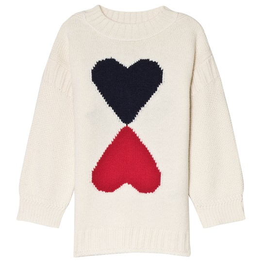 Burberry Ivory Double Heart Sweater Ivory