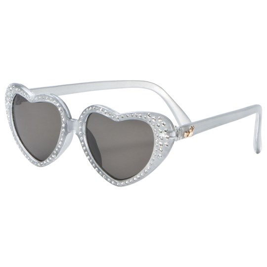 Monnalisa Silver Diamante Heart Sunglasses 75