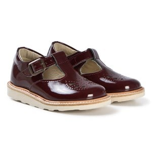 Image of Young Soles Cherry Patent Leather Rosie Mary Janes 26 (UK 8.5) (3061220855)
