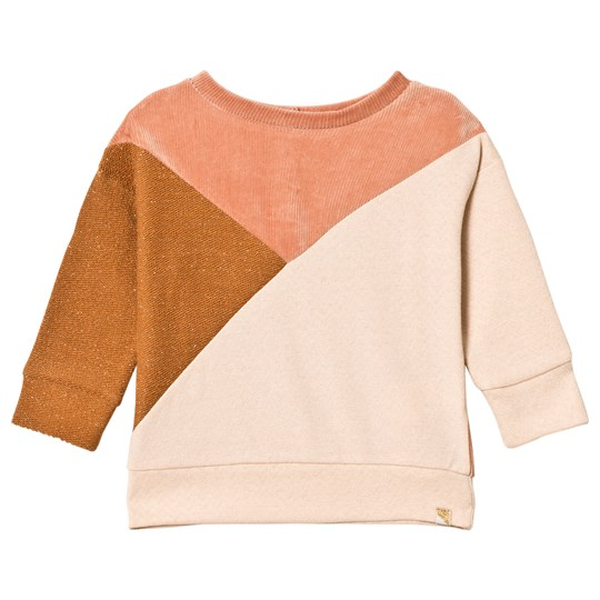 Blune Sweatshirt Contre-Champ Curry/Apricot Curry/Apricot