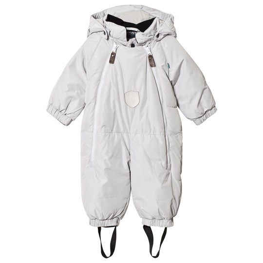 Lindberg Duved Baby Coverall Grey Black